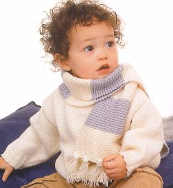 Rowan Wool Cotton Bo Kit - Baby and Kids Pullovers