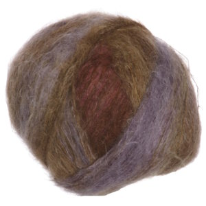 Rowan Kidsilk Haze Stripe Yarn - 359 Chestnut
