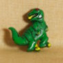 Muench Plastic Buttons - T-Rex - Green