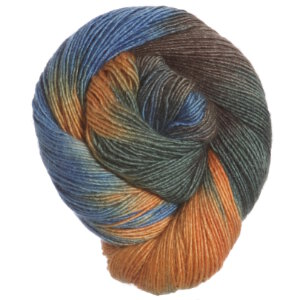 Araucania Nuble Yarn - 005 Rust, Blue, Olive