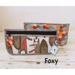 Chicken Boots Notions Case - Foxy