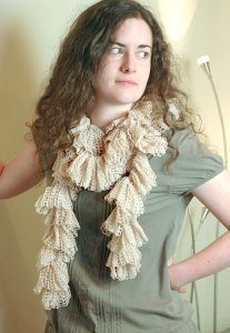 Berroco Lacey Francis Scarf Kit - Scarf and Shawls