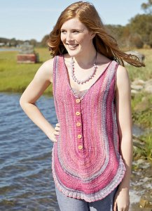 Berroco Linsey Monge Tank Kit - Women's Sleeveless