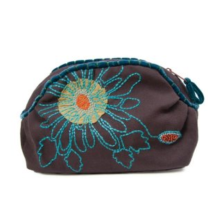 Lantern Moon Christi Clutch - Brown