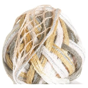 Filatura Di Crosa Moda Lame Yarn - 16 Tawny/Silver (Discontinued)