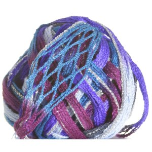 Filatura Di Crosa Moda Lame Yarn - 10 Ocean/Silver (Discontinued)