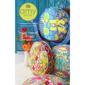 Amy Butler Sewing Patterns - Must Have Pillows Pattern