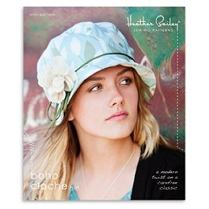 Heather Bailey Sewing Patterns - Boho Cloche Hat Pattern