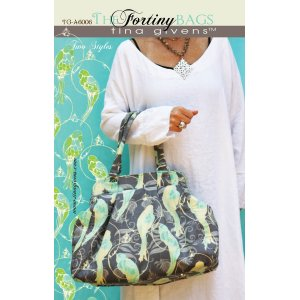 Tina Givens Sewing Patterns - Fortiny Bag Pattern