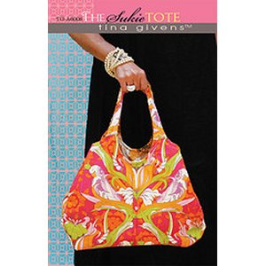 Tina Givens Sewing Patterns - Sukie Tote Pattern