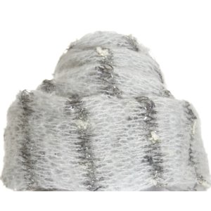 Euro Yarns Malizia Yarn - 850 - Light Grey, Black with Silver
