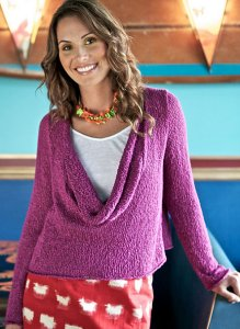 Berroco Lago Caloosa Sweater Kit - Women's Pullovers