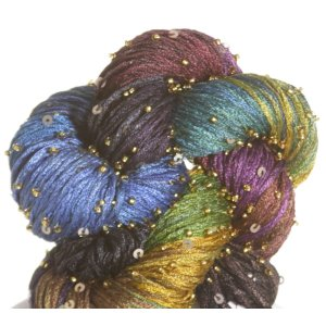 Artyarns Beaded Pearl & Sequins Yarn - 182 w/Gold