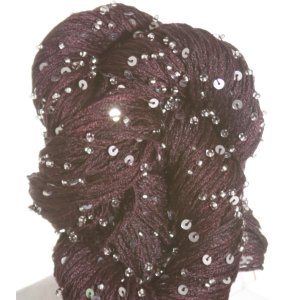 Artyarns Beaded Pearl & Sequins Yarn - H11 w/Silver
