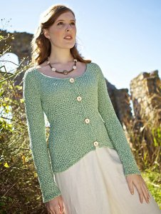 Berroco Captiva Campania Sweater Kit - Women's Cardigans