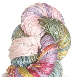 Artyarns Beaded Pearl & Sequins Yarn - 1015 w/Silver