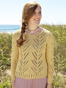 Berroco Captiva Veneto sweater Kit - Women's Pullovers