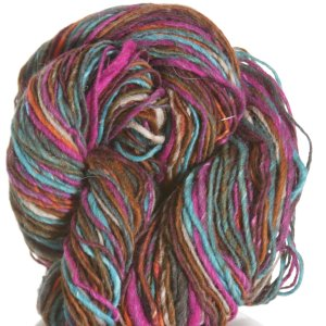 Noro Kirara Yarn - 11 - Orange, Olive, Turquoise