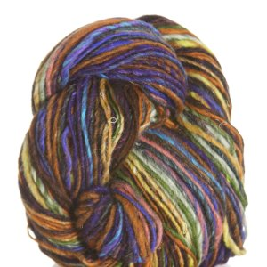 Noro Kirara Yarn - 15 - Navy, Green, Orange