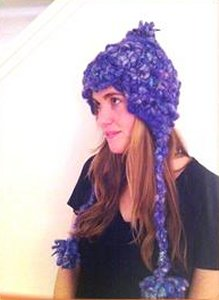 Knit Collage Pixie Dust Earflap Hat Kit - Hats and Gloves