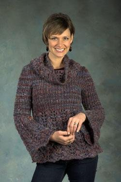 Plymouth Sweater & Pullover Patterns - 2409 Woman's A-Line Pullover Pattern