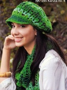 Noro Karuta Crocheted Hat Kit - Hats and Gloves