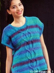 Noro Karuta Ladies Top Kit - Women's Pullovers