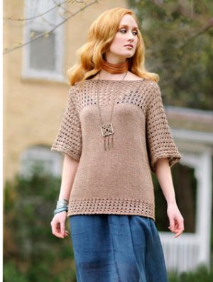 Blue Sky Alpacas Adult Clothing Patterns - Smock Top Pattern
