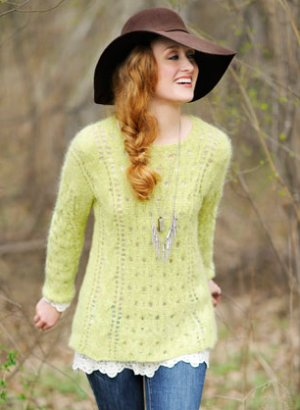 Blue Sky Alpacas Adult Clothing Patterns - Carpathian Pullover Pattern