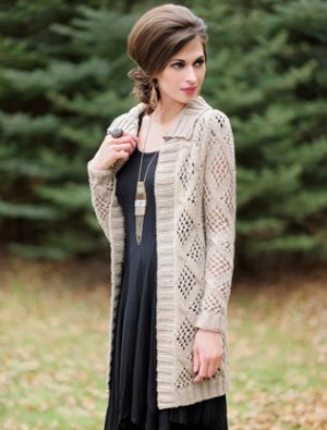 Blue Sky Fibers Adult Clothing Patterns - Afternoon Cardi Pattern