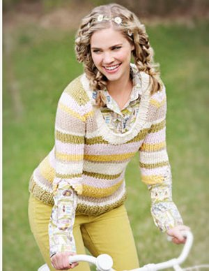 Spud & Chloe Patterns - Wendy Sweater Pattern