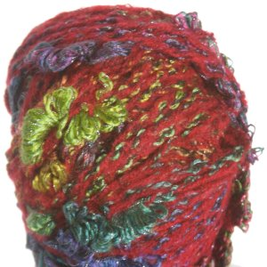Trendsetter Geisha Yarn - 04 Red Turquoise