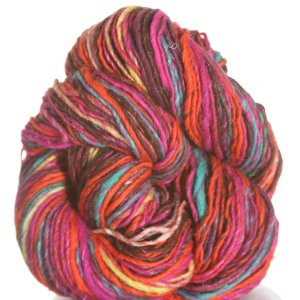 Noro Kirara Yarn - 13 - Wine, Orange, Hot Pink