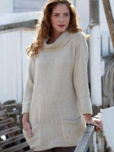 Rowan Creative Linen Rhea Tunic Kit - Women's Pullovers