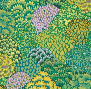 Kaffe Fassett Oriental Trees Fabric - Green