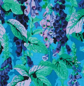 Philip Jacobs Fox Gloves Fabric - Cool