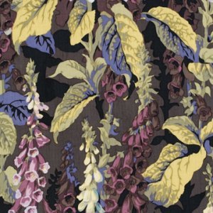 Philip Jacobs Fox Gloves Fabric - Grey