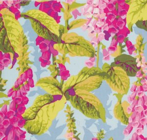 Philip Jacobs Fox Gloves Fabric - Spring