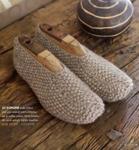Lana Grossa Alta Moda Cashmere Slippers Kit - Socks