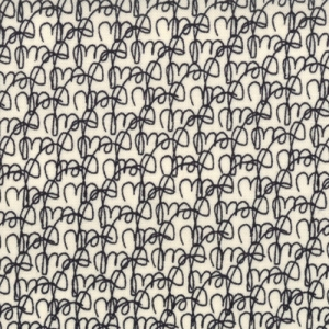 Sweetwater Mama Said Sew Fabric - Tangled Threads - Cream/Black (5492 13)