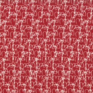 Sweetwater Mama Said Sew Fabric - Tangled Threads - Apple Red (5492 21)
