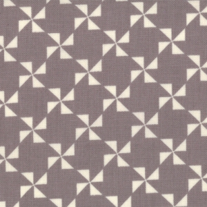 Sweetwater Mama Said Sew Fabric - Pinwheel - Cream/Mist (5496 24)