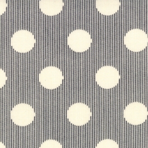Sweetwater Mama Said Sew Fabric - Snaps - Cream/Black (5497 13)