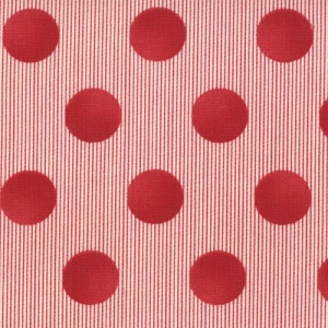 Sweetwater Mama Said Sew Fabric - Snaps - Apple Red (5497 21)