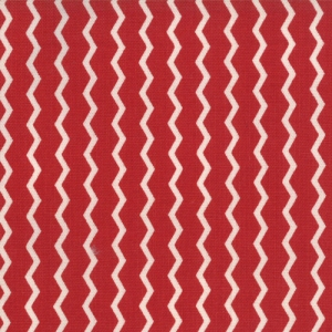 Sweetwater Mama Said Sew Fabric - Pinking Shears - Apple Red (5498 21)