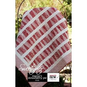 Sweetwater Mama Said Sew Patterns - Mama's Strawberry Pie Pattern