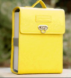 Namaste Circular Case - Canary Yellow