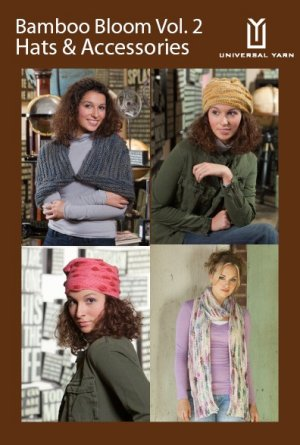 Universal Yarns Pattern Books - Bamboo Bloom Vol. 2: Hats & Accessories