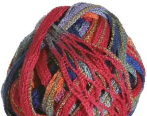 Filatura Di Crosa Moda Lame Yarn - 12 Tropical/Gold (Discontinued)