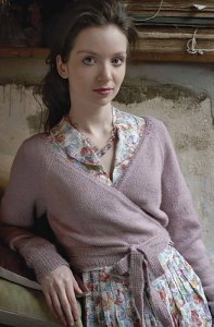Rowan Fine Lace Wrapover Cardigan Kit - Women's Cardigans